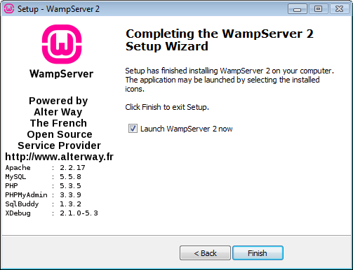 wampserver 5