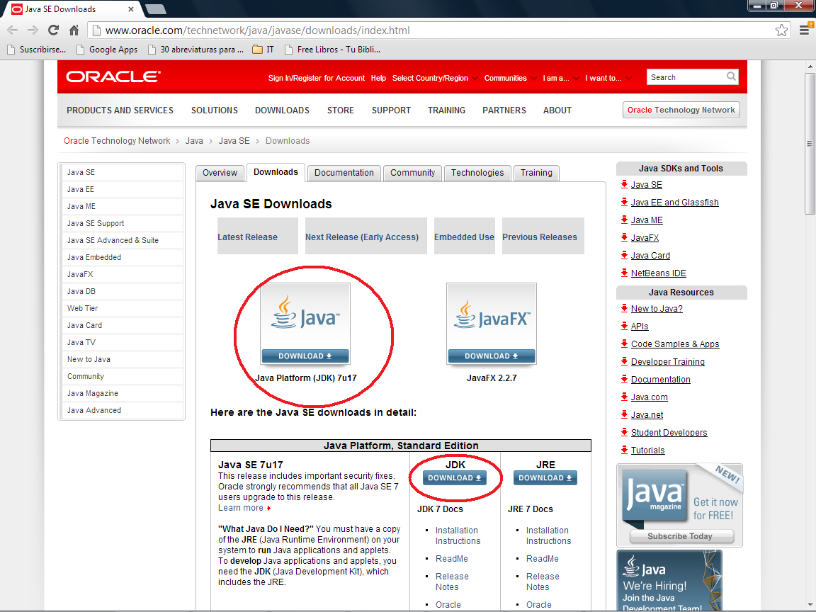 descargar java jdk 64 bits para windows 10